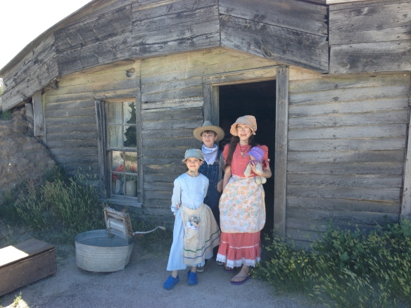 Sod home preserved the way settlers actually lived in it. This is the real thing!