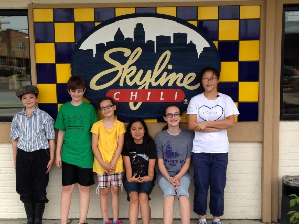 Feeling good and hungry? Skyline time!
