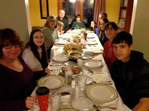 Our first Thanksgiving in Nebraska. We celebrated with the small group and their families. One of my favorite Thanksgivings!